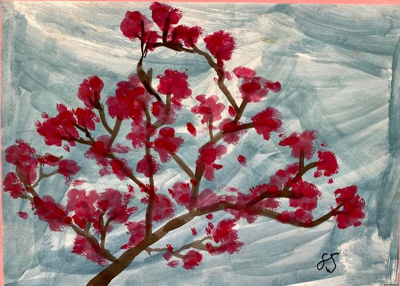 Fynn Watercolour Cherry Blossom.JPG