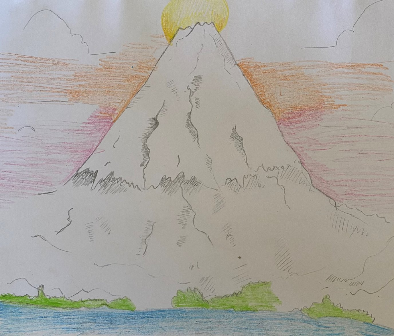 Mount Fuji Sketch - Delisha Yr 6.jpg